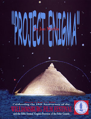 Project Enigma radio Show poster