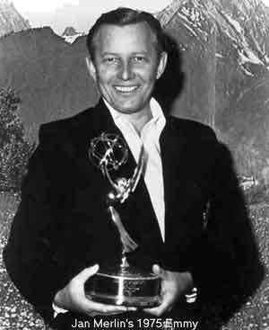 Jan Merlin's Emmy award 1975